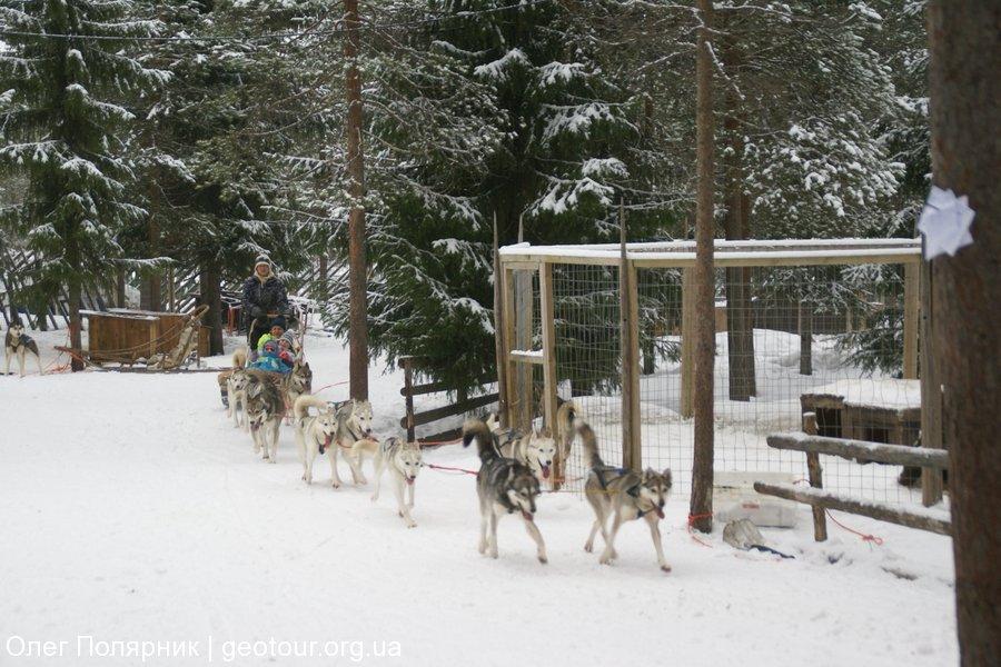 Путешествие к Деду Морозу