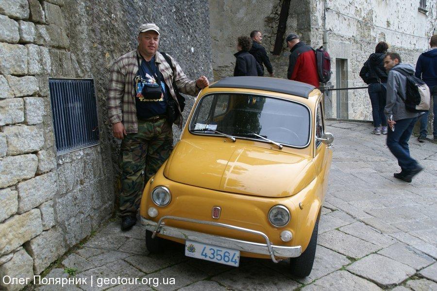 Путешествие на Корсику. Сан Марино