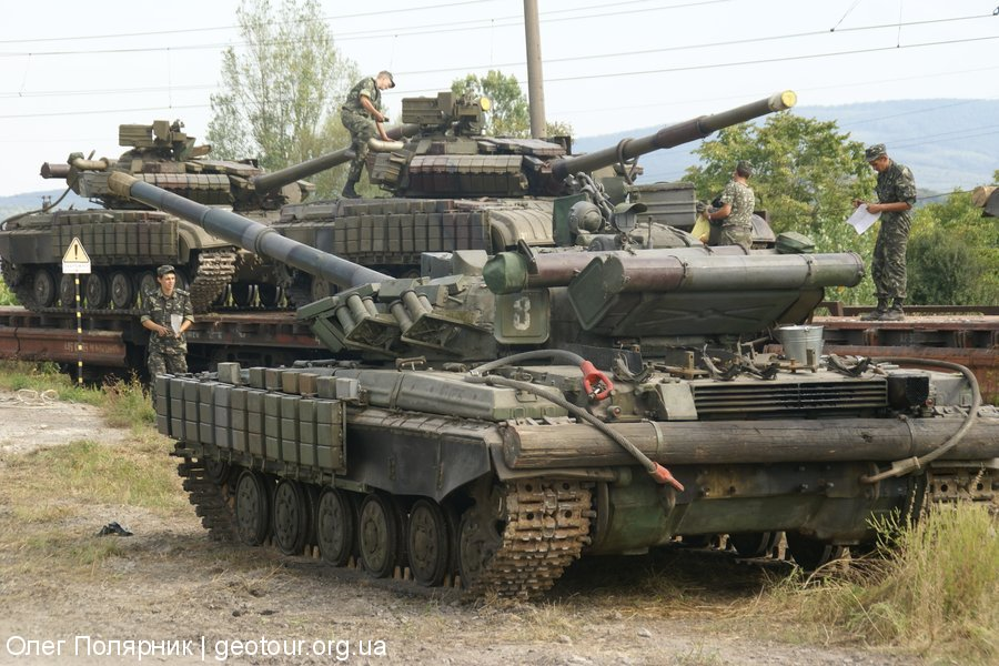 Вывод танков из Ужгорода. Часть 1